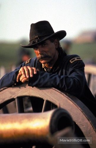 Gettysburg movie, Sam Elliot portrayed John Buford