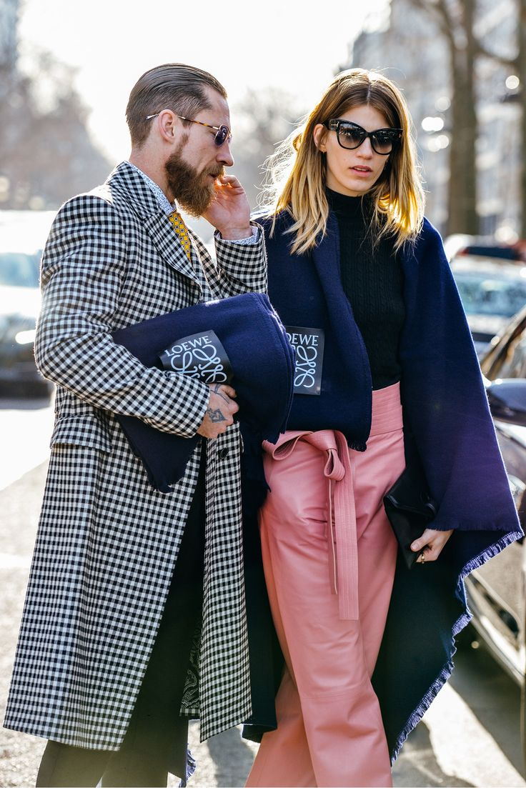 Street Style #streetstyle #style #fashion Tommy Ton Shoots the Best Street Style at the Fall '15 Shows - Gallery - Style.com