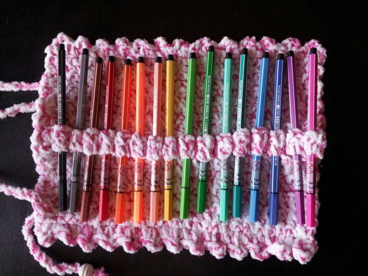 Trousse au crochet