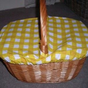 Went through a faze of taking a basket to school, I was one of many! Best for carrying any cooking home you had done...