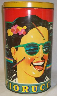 Fiorucci biscuit tin - somehow i had two of these
