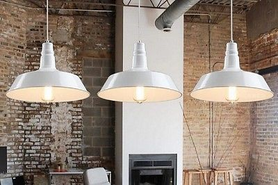 Lampadario lampada da soffitto sospensione stile industriale vintage SaggiBianco
