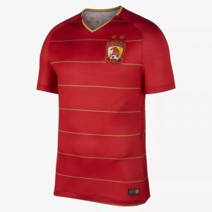 18-19 Cheap Jersey Guangzhou Evergrande Home Replica Red Shirt