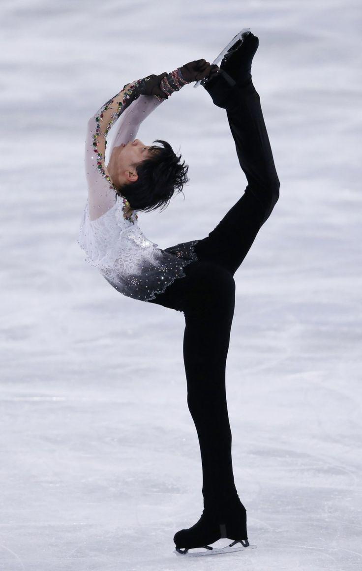 Yuzuru Hanyu the best male figure skater in the world and, my biggest celebrity crush!