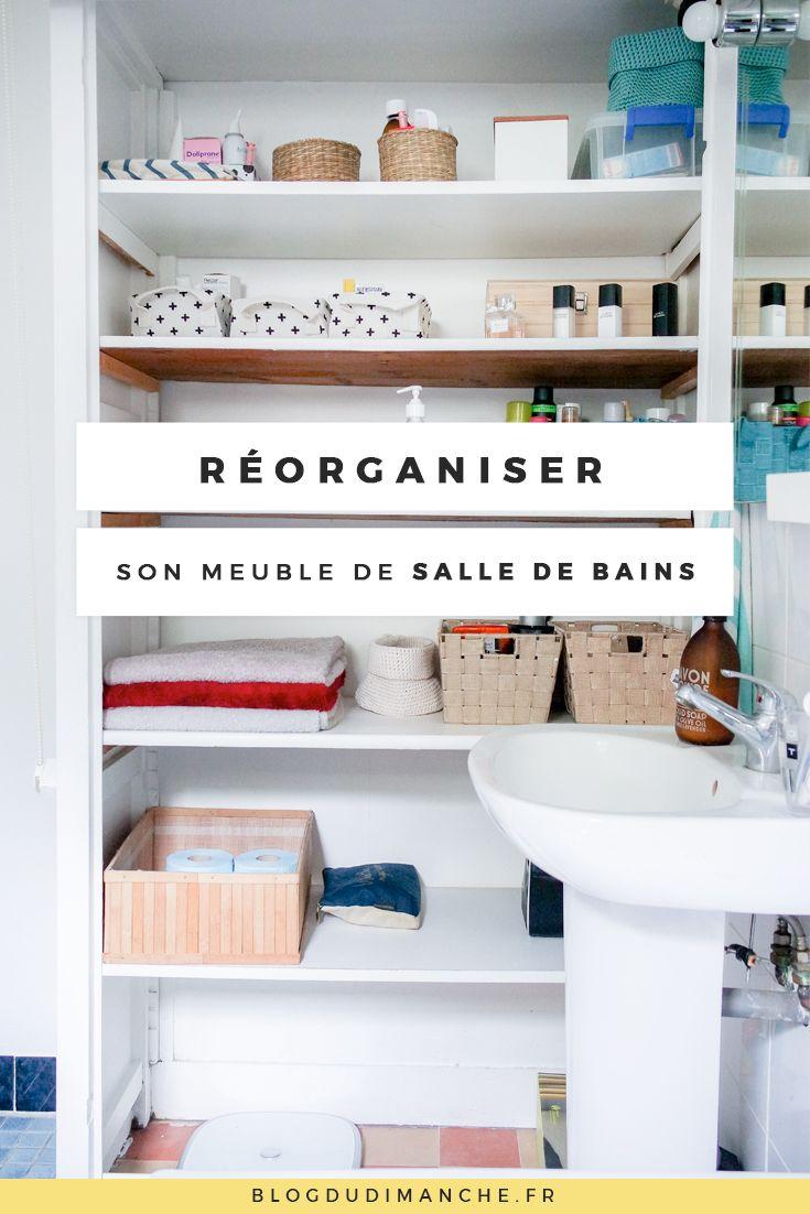 Si vous cherchez à réorganiser le rangement de votre meuble de salle de bains…