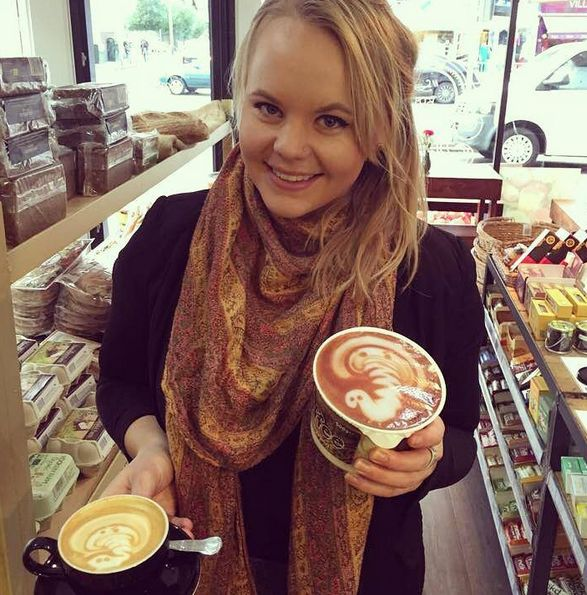If you've spotted the special foils on our new coffee tubs here's the talented gal Izzy who created the elephant design... bravo!