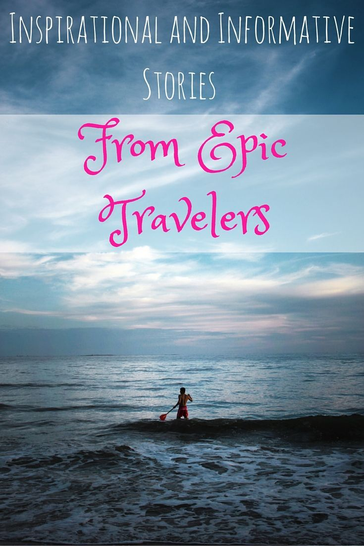 These travelers KNOW how to travel! Want to travel like them? They tell you how to do it right here!