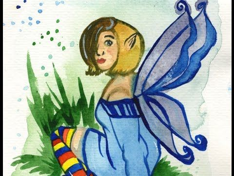 How to Draw and Paint a Fairy