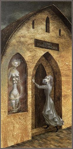 Remedios Varo. Visit to the Plastic Surgeon