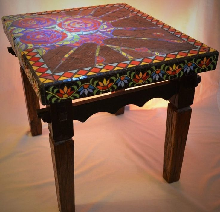 1000+ images about mosaic furniture on Pinterest | Mosaic cafe ...