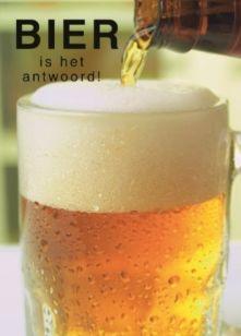 BIER is het antwoord! ;-) #Hallmark #HallmarkNL #Happybirthday #birthday #verjaardag #jarig #bday #hoera #bier