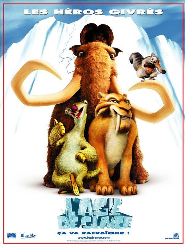 L'Âge de glace est un film de Chris Wedge avec Ray Romano, John Leguizamo. Synopsis : Vingt mille ans avant notre ère, lorsque Scrat, un rongeur obstiné, fend la banquise et déclenche un nouvel Age de Glace, une vaste cohorte de mammifè