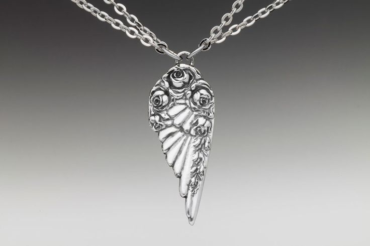 Silver Spoon Jewelry - Necklace - Angel Wing