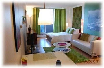 Apartment - clean lines, nice color scheme  (J)