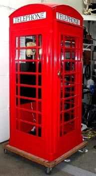 15 best Phone Booth images on Pinterest | Telephone booth, Murals ...