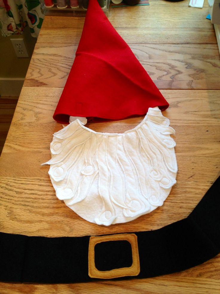 easy gnome costume