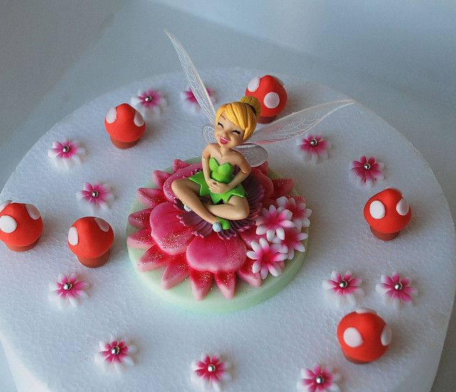 Tinkerbell cake topper by Lucyscakesandtoppers.co.uk, via Flickr
