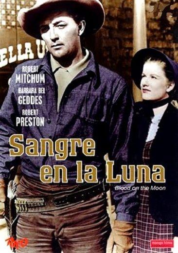 Cartel película Sangre en la Luna (1948)