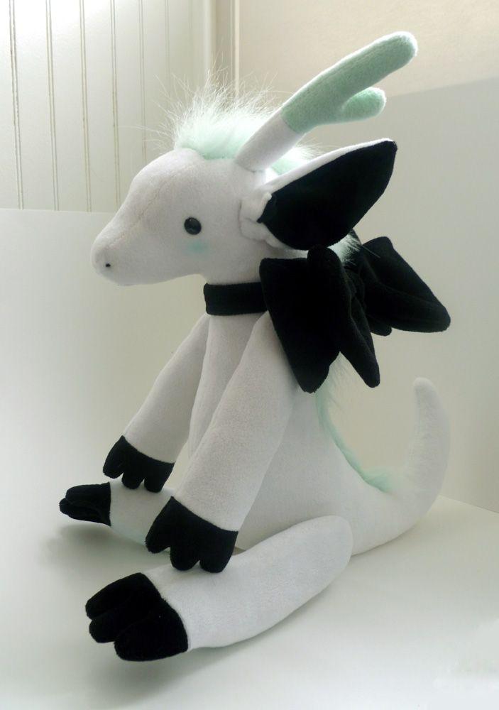 jointed dragon plush pattern by gurliebot.deviantart.com ...