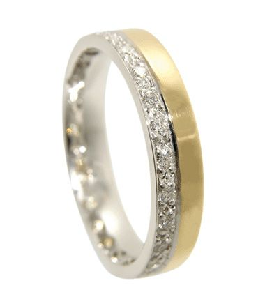 two tone wedding rings wedding and wedding ring on 8144