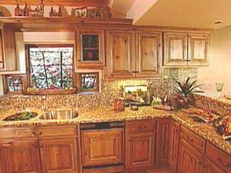 Natural Style Graces Southwest Kitchens | Kitchen Ideas & Design with Cabinets, Islands, Backsplashes | HGTV