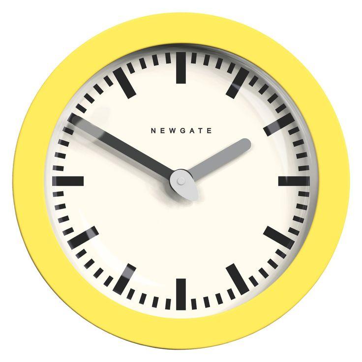 ANDROMEDA Yellow wall clock
