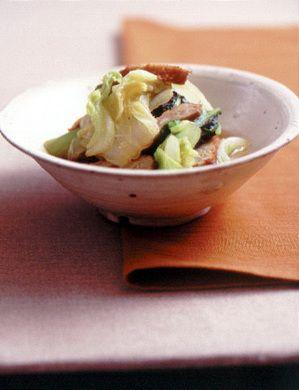 白菜とさつま揚げのあっさり煮 | 福山秀子さんのレシピ【オレンジ ...