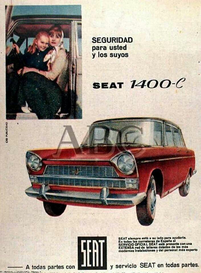 Anuncio Seat 1400 C
