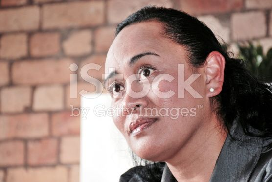Maori Lady In Business royalty-free stock photo