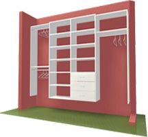 43 best diy closet wardrobe images on pinterest home ideas diy closet organizer closet organizers do it yourself closet organization systems ny nj solutioingenieria Images