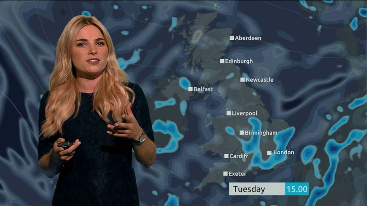 Reporter Brilliantly Works Ghostbusters Puns Into a One Minute United Kingdom Weather Report