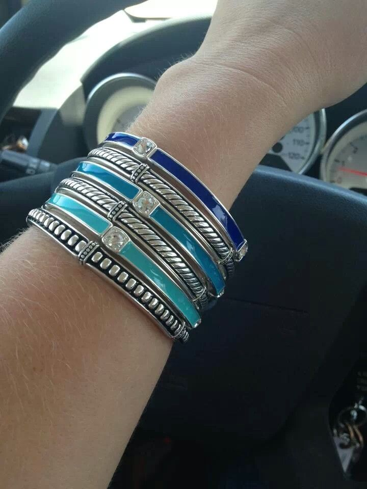 Another great combo! Hombre bracelets (blue)