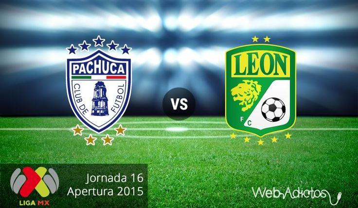 Pachuca vs León en el Apertura 2015 ¡En vivo por internet! | Jornada 16 - http://webadictos.com/2015/11/07/pachuca-vs-leon-apertura-2015/?utm_source=PN&utm_medium=Pinterest&utm_campaign=PN%2Bposts