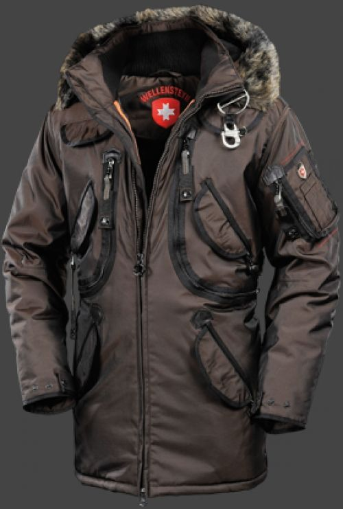 Wellensteyn Rescue Parka, RainbowAirTec, Coffee