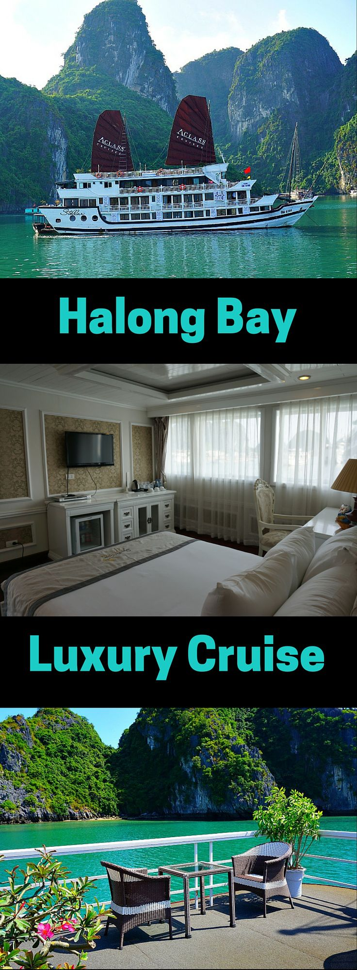 "Halong Bay is a wonderful place to spend a 2-day cruise exploring Vietnam's picturesque UNESCO World Heritage Site. You can enjoy the limestone rock formations, turquoise blue water, kayaking, swimming and exploring the amazing ""Surprise"" cave. All the while enjoying amazing Vietnamese cuisine. Click to read more! @venturists"