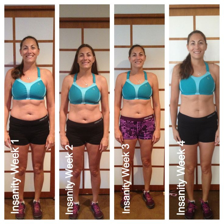 Insanity results after 3.5 weeks!De Insanity, Insanity P90X, Insanity ...