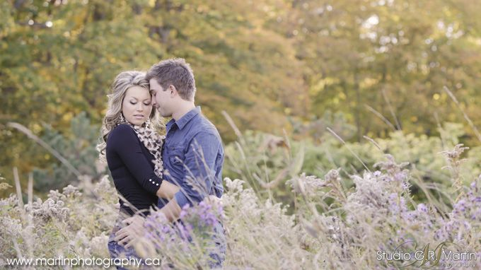 Fall engagement session Cumberland Photography Outdoor Studio « Studio G.R. Martin Photography