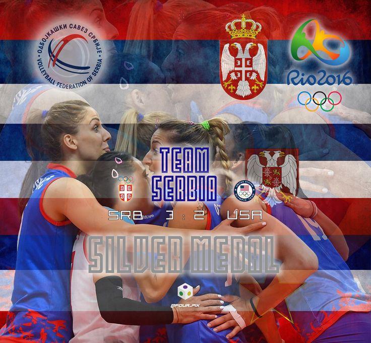 #Srbija #Србија #TeamSerbia #Rio2016 #Olympic #volleyball #bronze #SrbiLudaci #osvojilismosve : : )