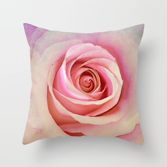 Romantic rose(8) Throw Pillow