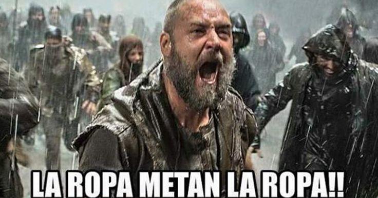 Los memes de los cordobeses tras 12 días de lluvia.