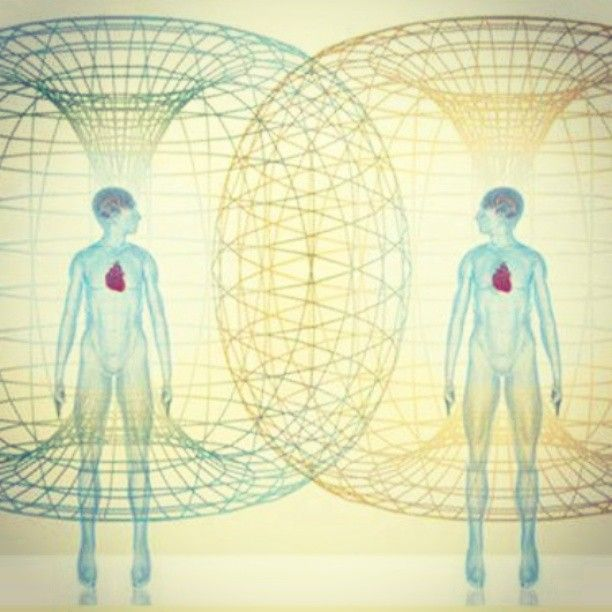 The strongest electromagnetic field on the human body emanates from the heart  (image via @resonanceproject)