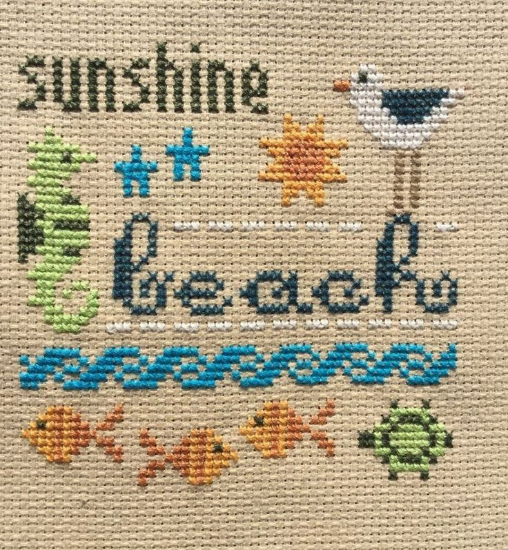 completed finished cross stitch Lizzie Kate Summer Sunshine   | eBay