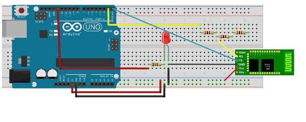 HC-06 and Arduino  remote control arduino using bluetooth, BLE. IoT