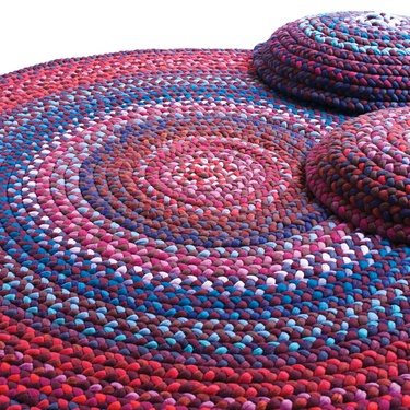 Twist rug by Dana Barnes for Souled Objected Collection