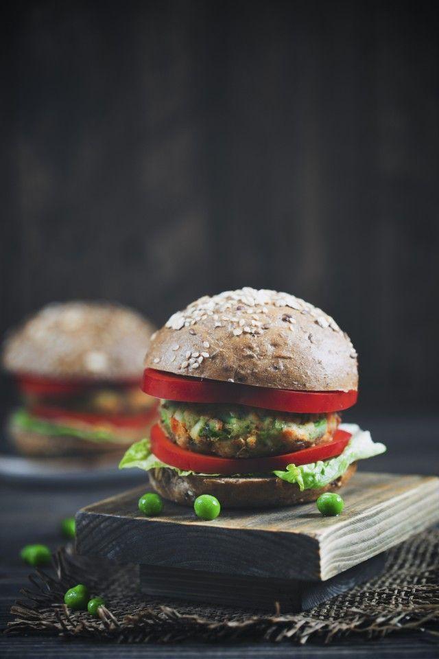Овощной бургер из синеньких с мятой и чили » Рецепты » Кулинарный журнал Насти Понедельник