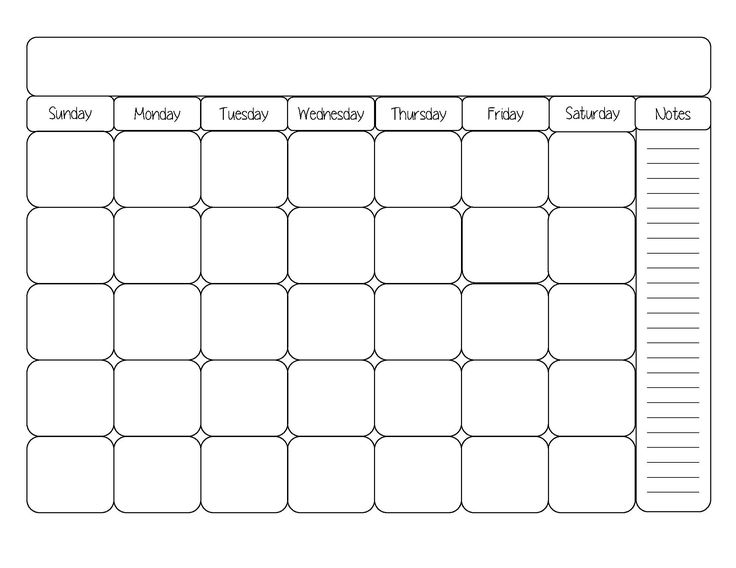 25+ unique Blank calendar template ideas on Pinterest Free blank - calendar template pdf