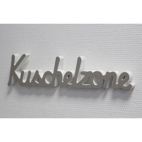 Schriftzug U0027Kuschelzoneu0027 Holz Grau/weiß 40cm Wand Deko Und Zum Aufstellen  NEU