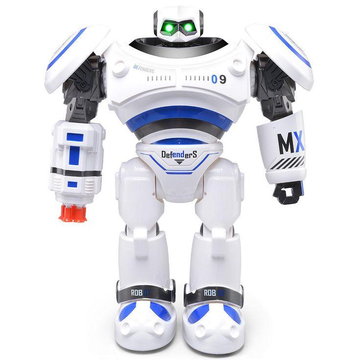 JJRC R1 AD Police Files Programmable Combat Defender Intelligent RC Robot