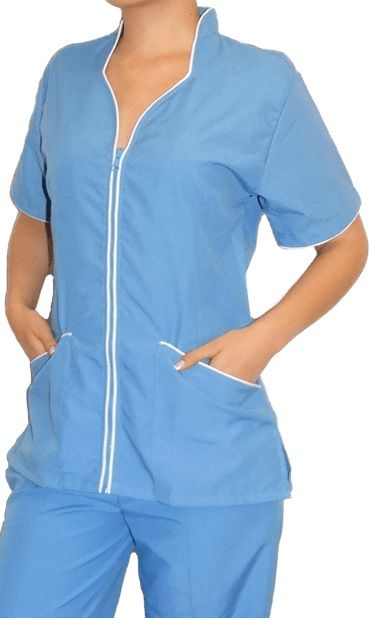 blusa para uniformes de spa