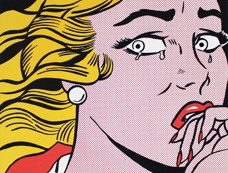 Lot 3, Roy Lichtenstein - Crying Girl